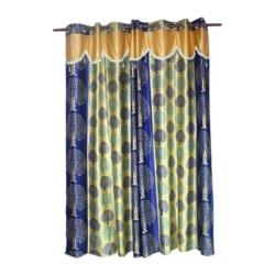 Kuruvi Tissue Embroidered Curtain