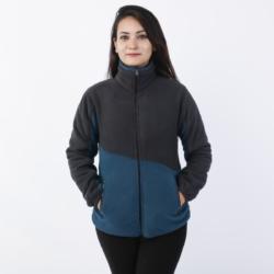 Fisher Dual Tone Fleece Jacket for Women