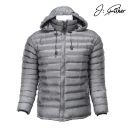 Fisher Hooded Silicon Jacket For Men